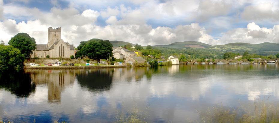 Killaloe River Shannon (source: Killaloe Tourism)