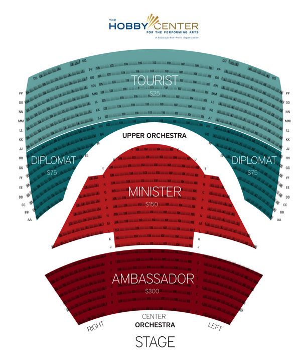 Eternal Tango Seating Chart