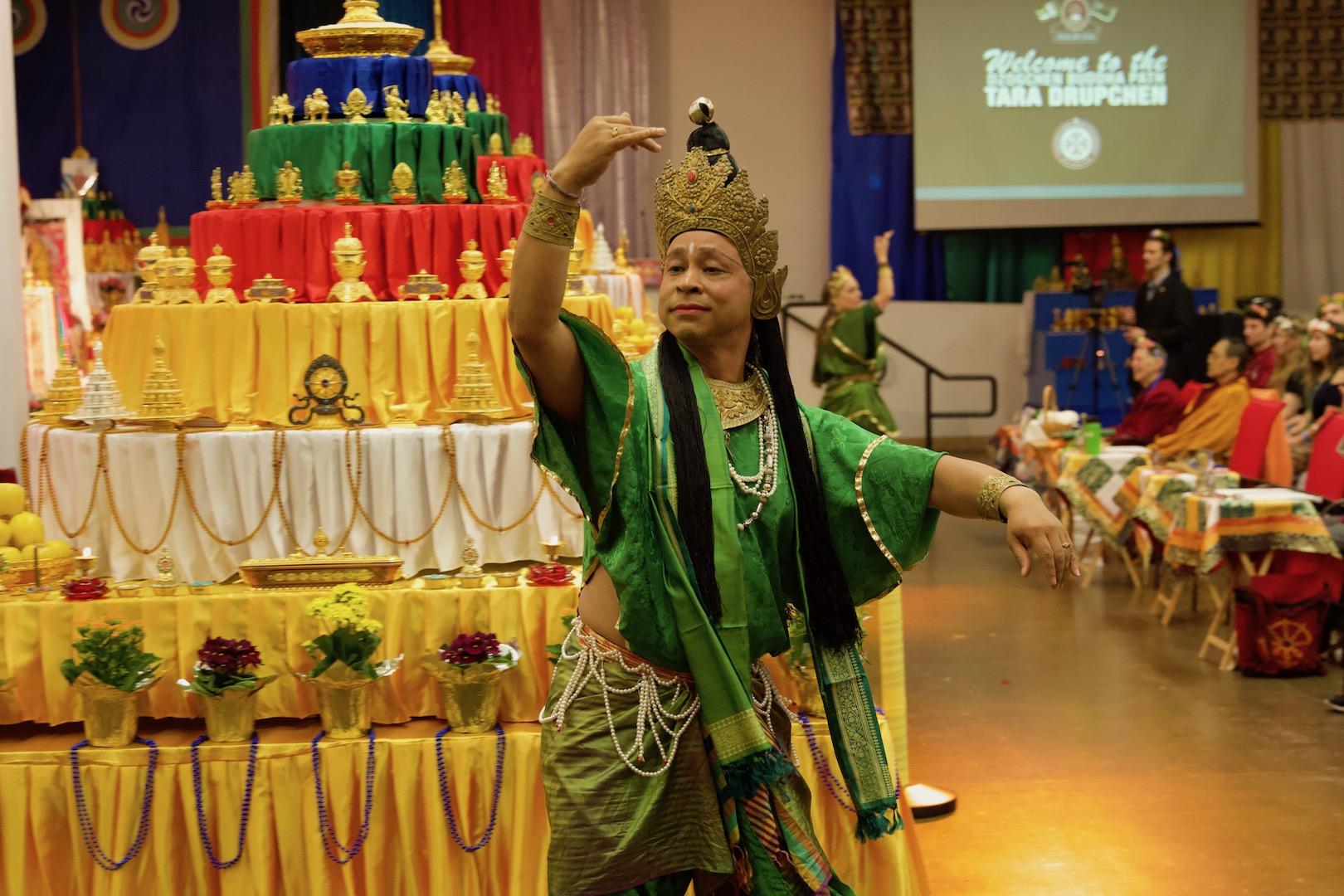 Vajra Dancer performing Green Tara Dance