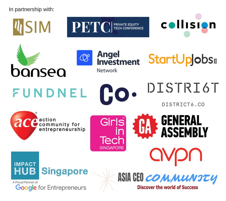 Partners SIM, PETC, C8, SUJ, AIN, Fundnel, Bansea, Co., D6, GA, Ace, AVPN, Asia CEO, IHS, GiT