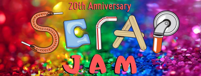 SCRAP Jam ticket
