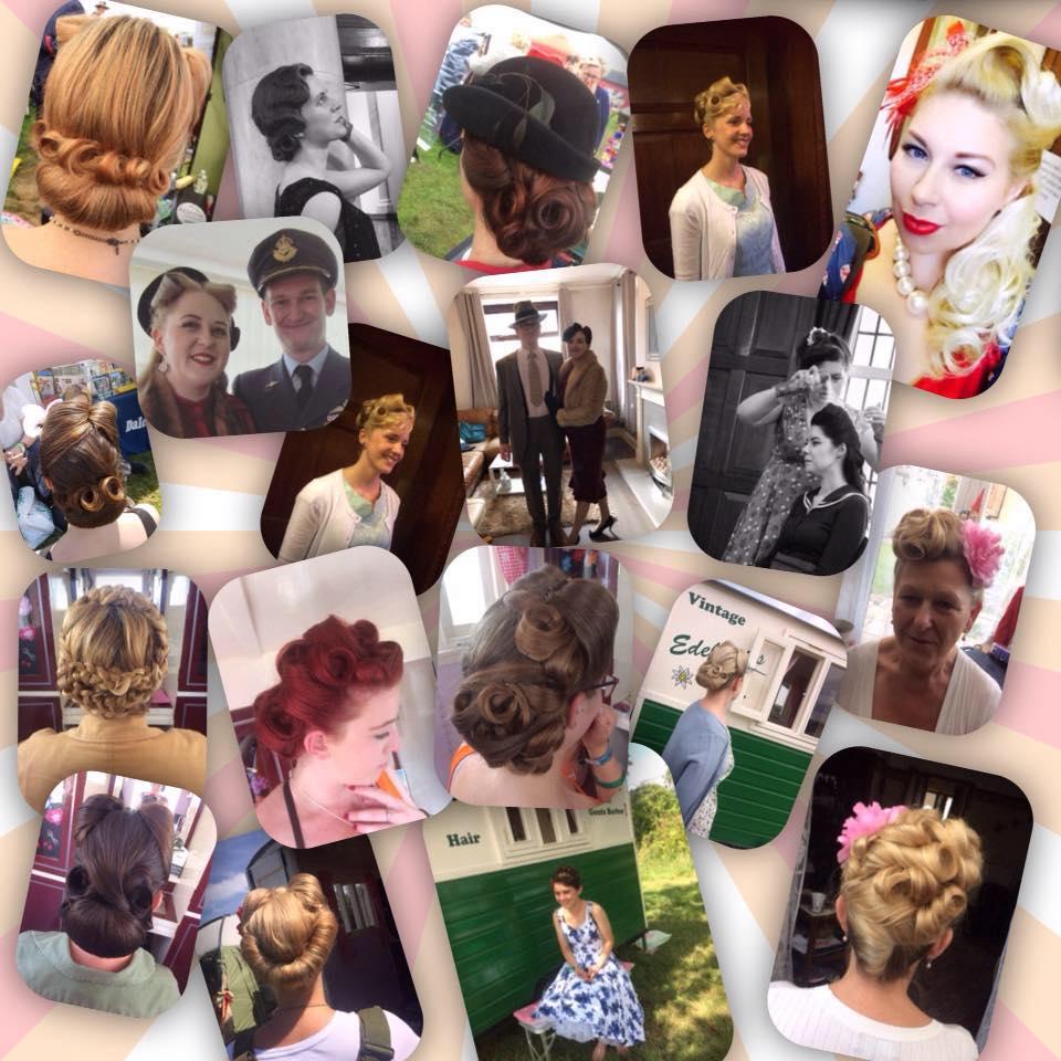 Vintage Hair portfolio