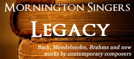 Legacy - Mornington Singers Concert (Galway)