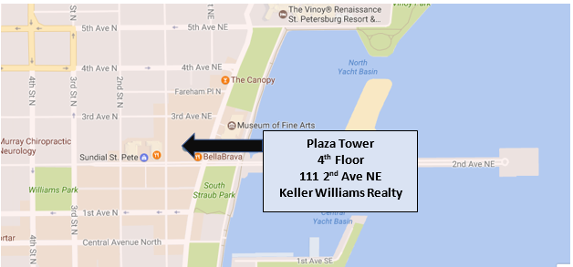 Map to Keller Williams Realty