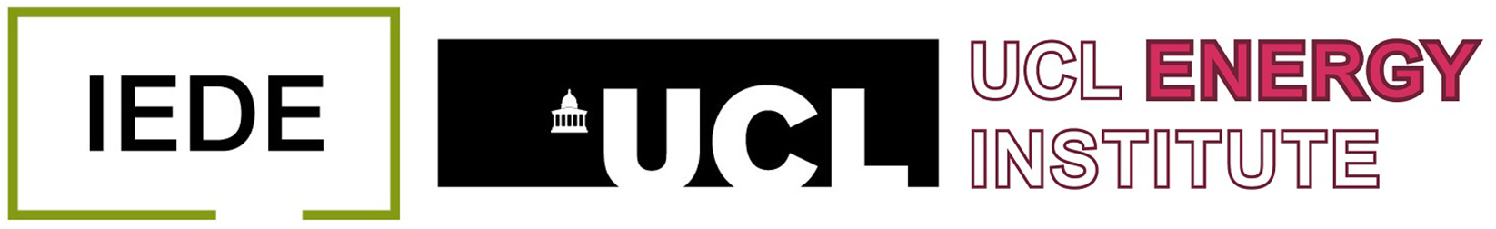 IEDE & UCL-Energy Logo