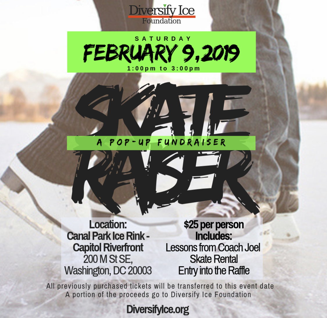 New skateraiser flyer