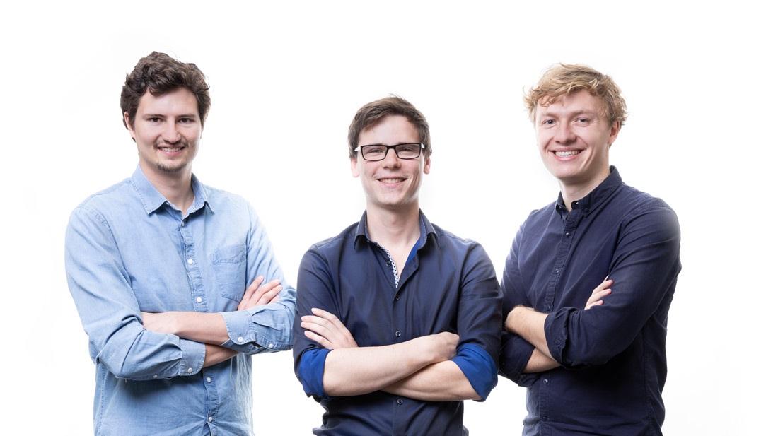 Gründer von ParkHere (v.l. Clemens Techmer, Felix Harteneck, Jakob Strum)