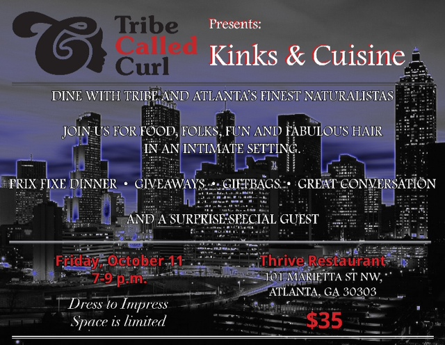 Kinks and Drinks flyer