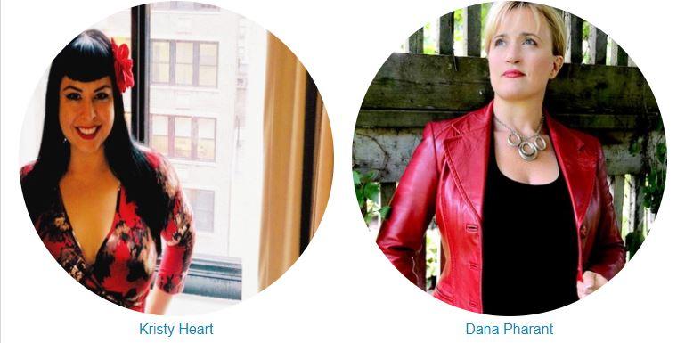 Kristy Heart and Dana Pharant