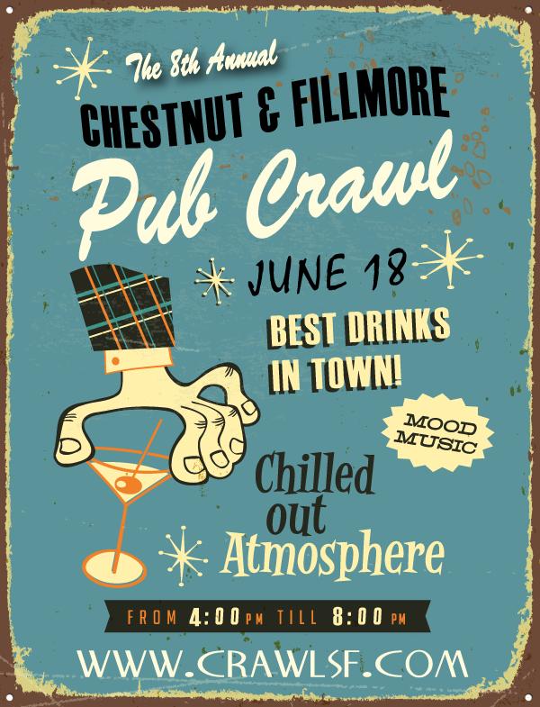 The Chestnut & Fillmore Pub Crawl