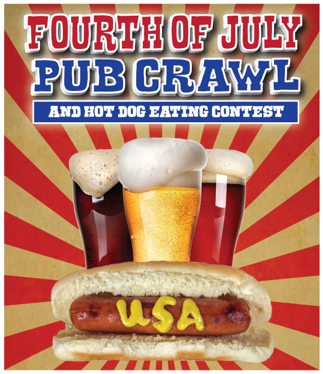 Fourth of July Pub Crawl San Francisco
