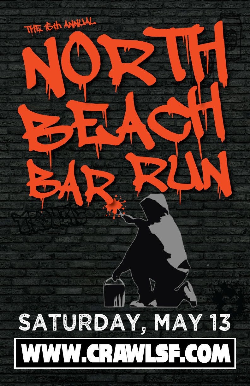 North Beach Bar run San Francisco