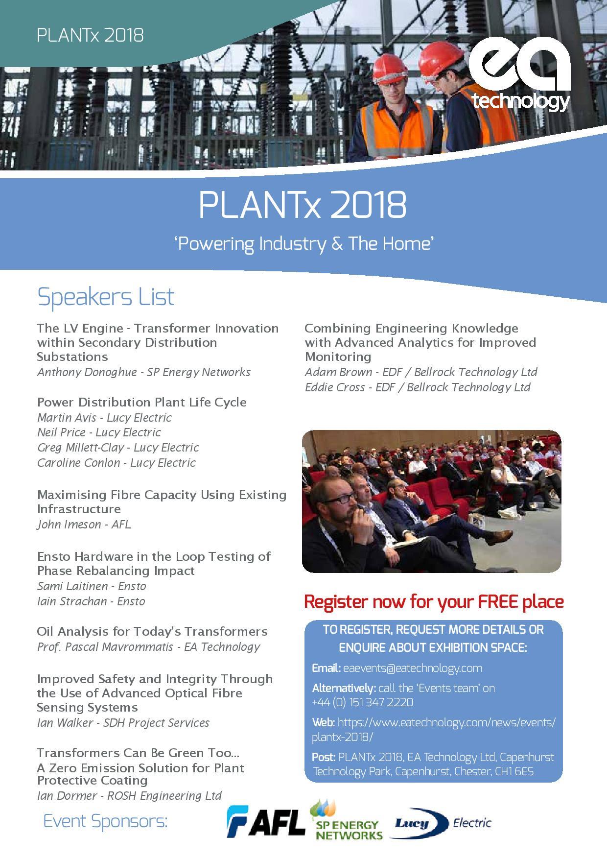PLANTx 2018