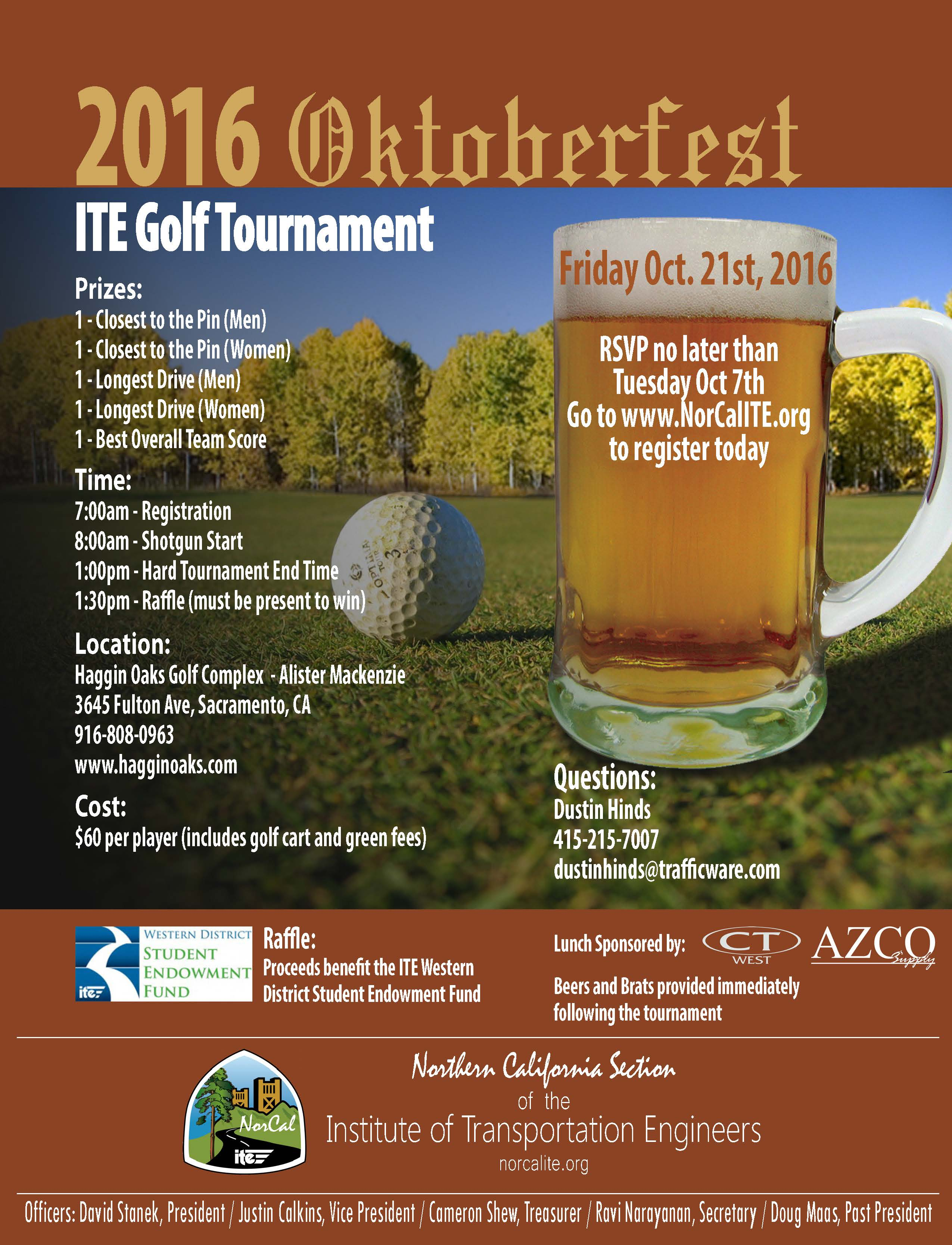 Oktoberfest 2016 Golf Flyer