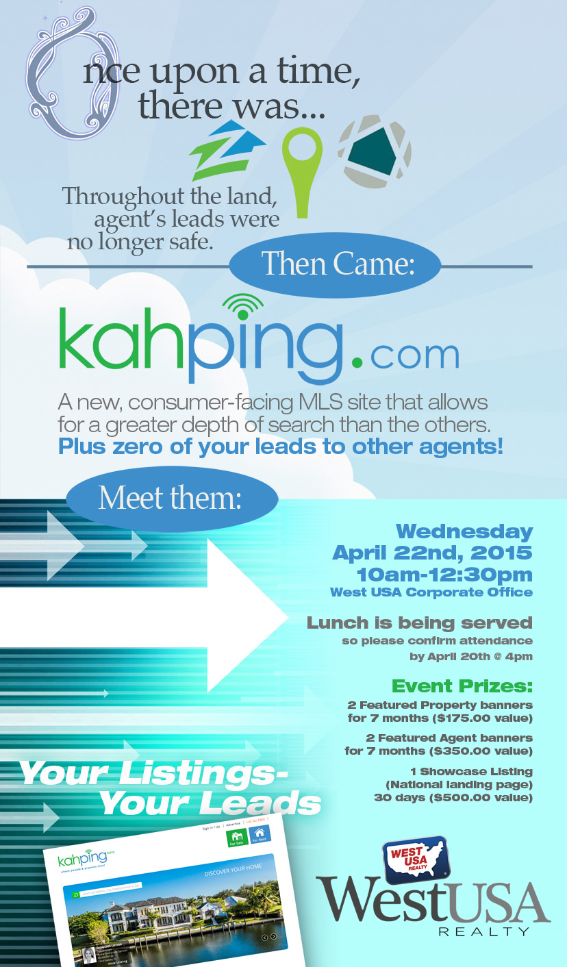 Kahping West USA Realty Flyer