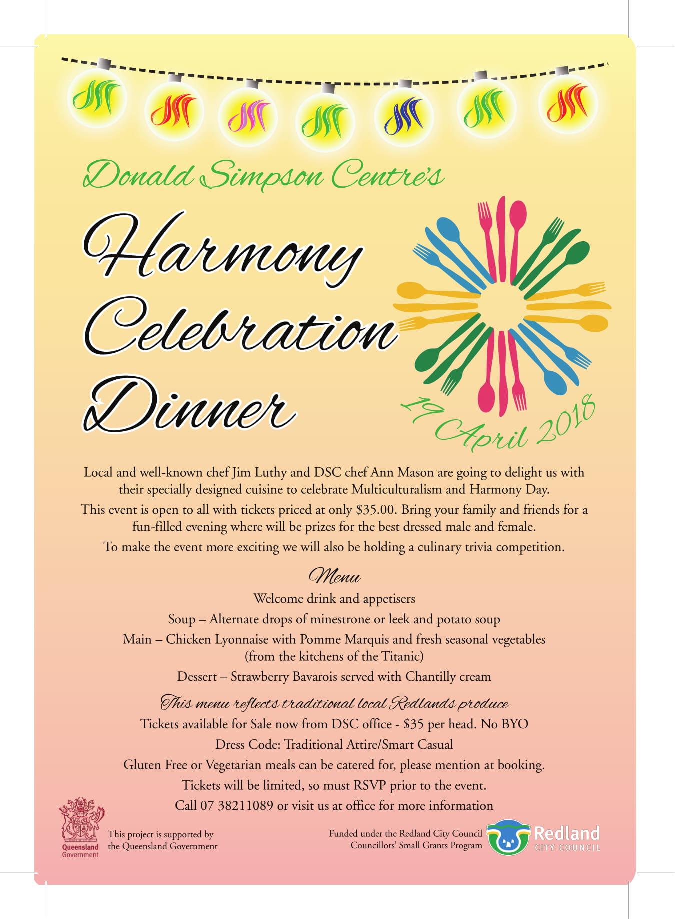 Harmony Dinner