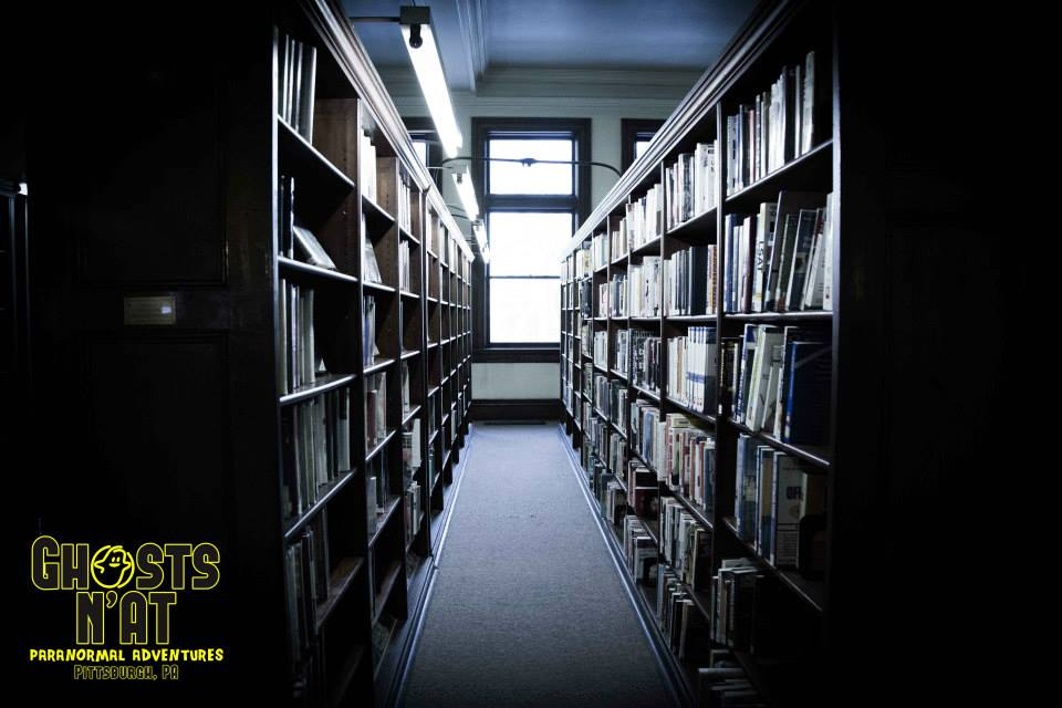 haunted Carnegie Library