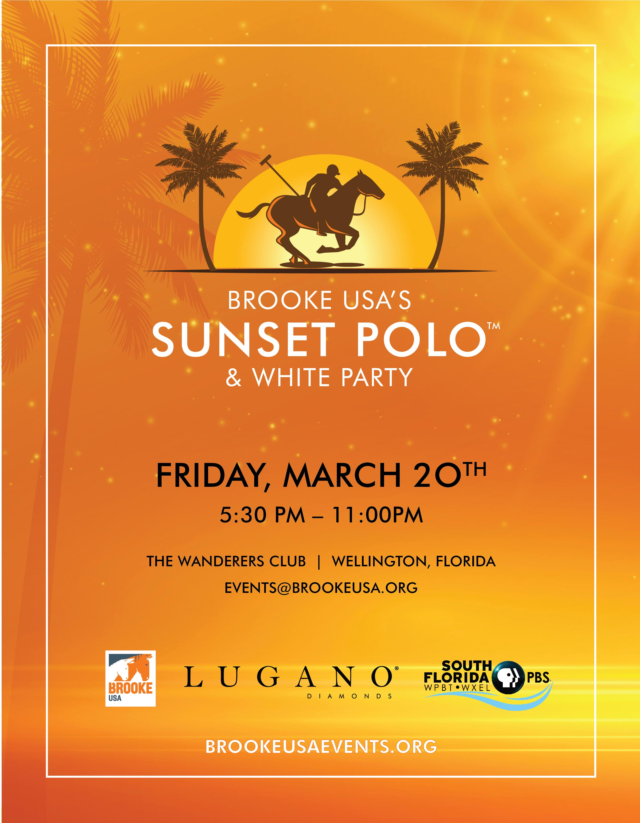 Save the Date - Sunset Polo & White Party