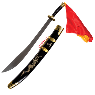 Metal Chinese Broadsword