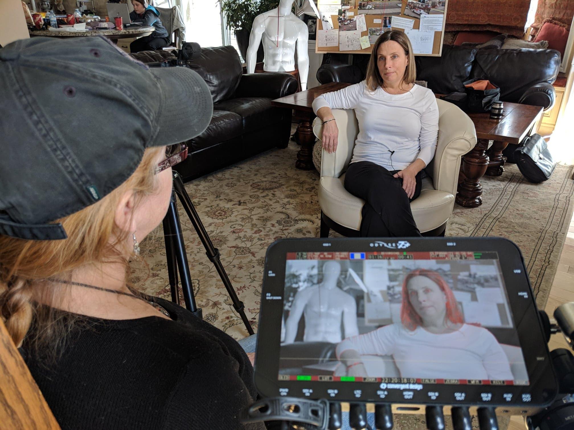 Joanne MacIsaac Being Interviewed by Sue Enberg, 2018