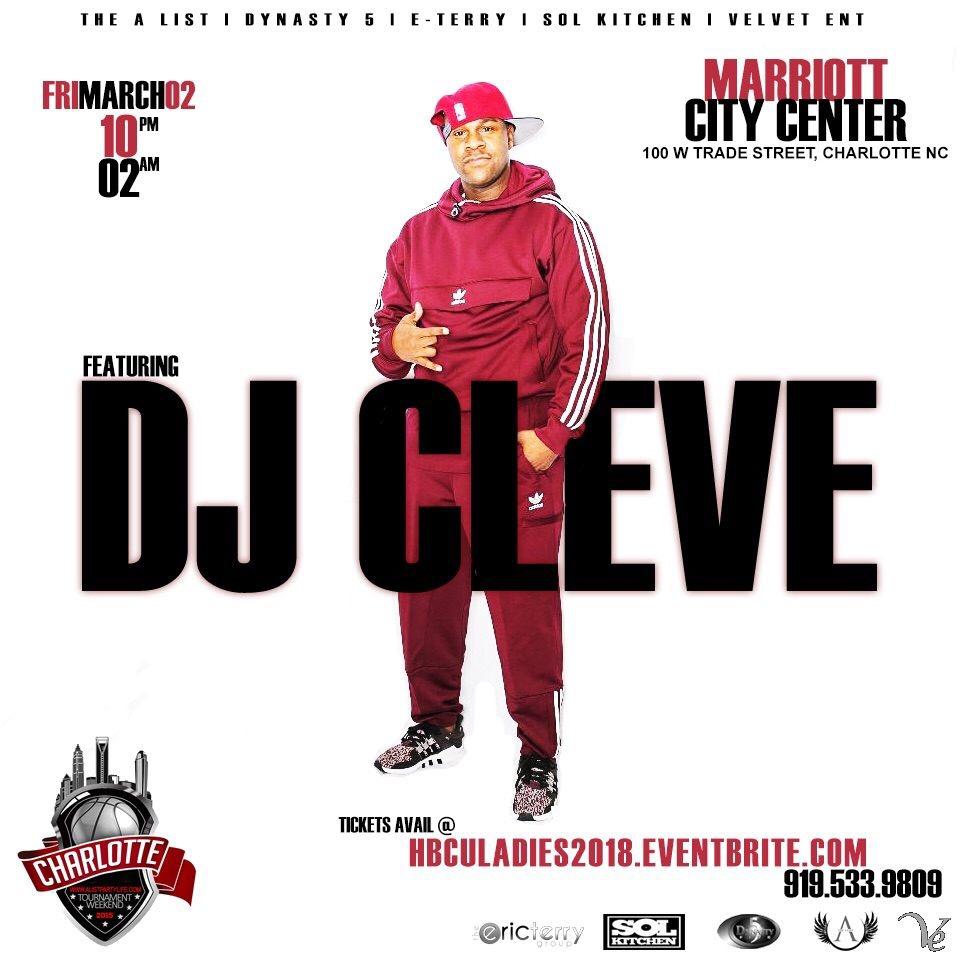 DJ Cleve Flyer