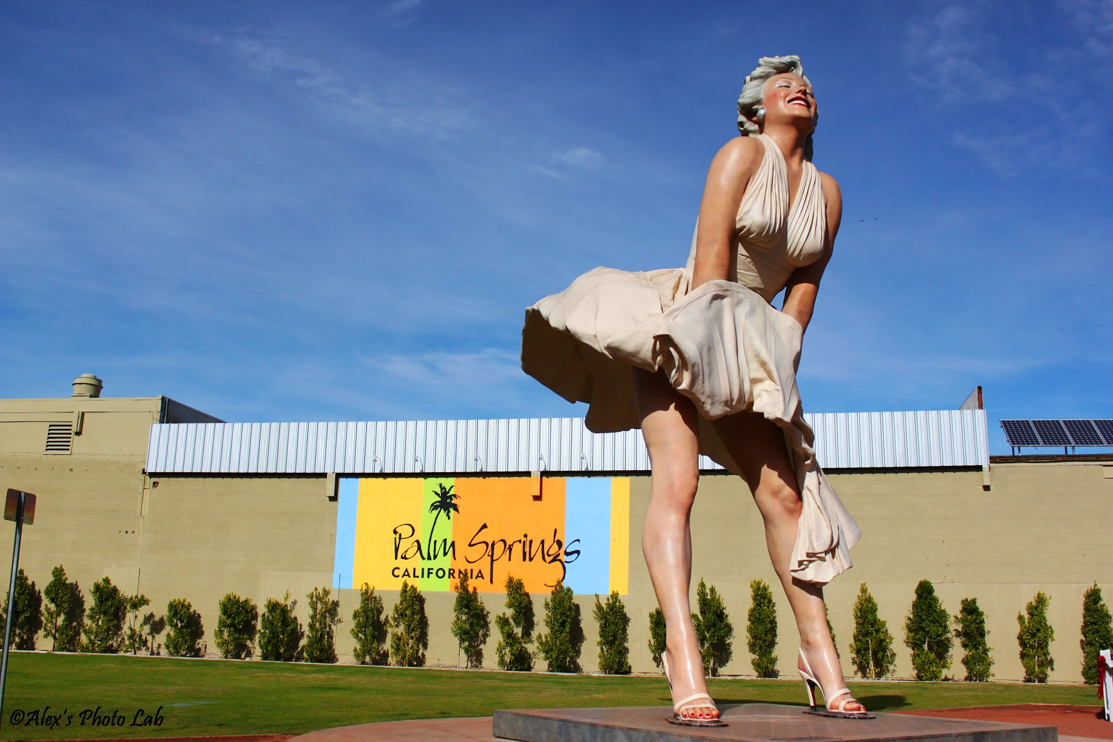 Forever Marylin Statue in Palm Springs