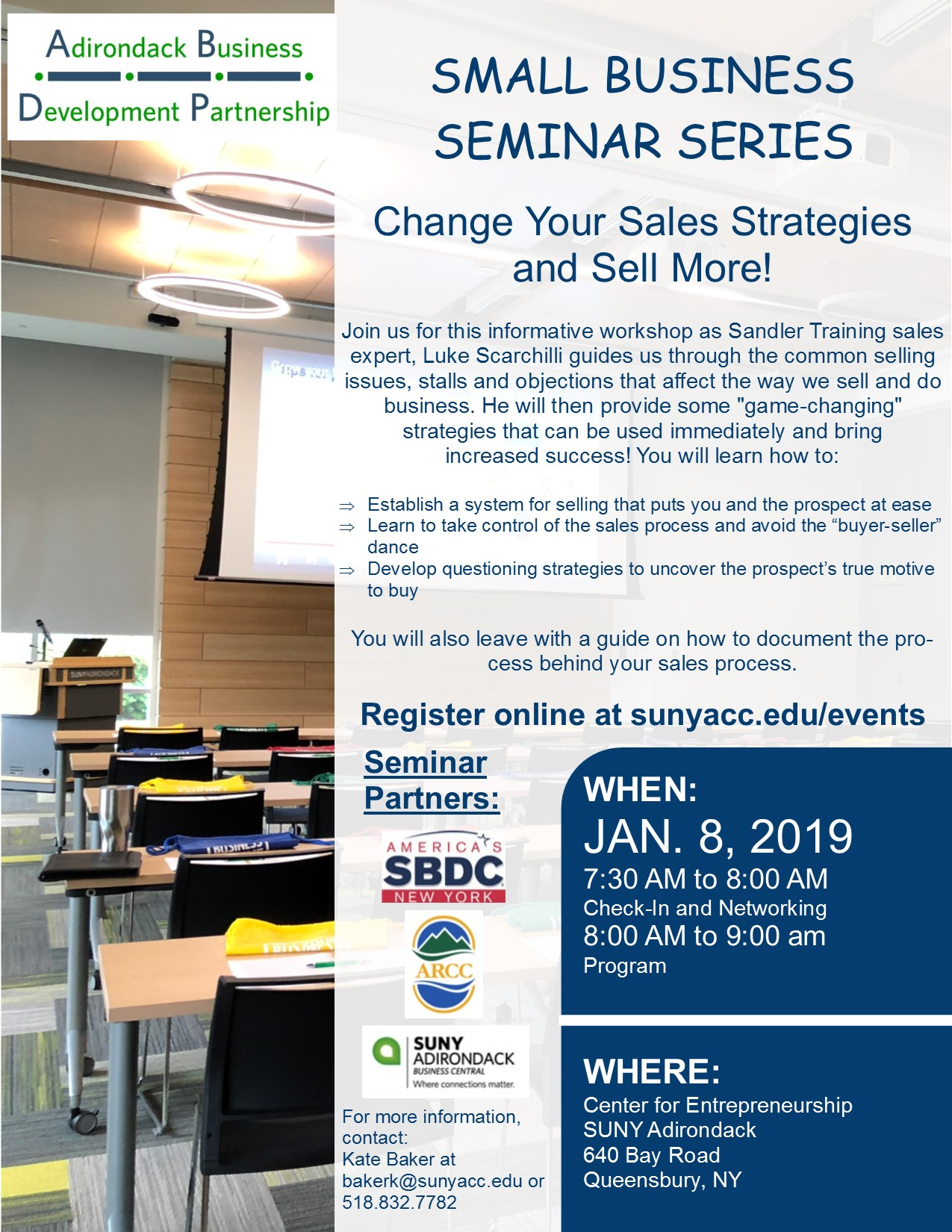 Sales Strategies Seminar