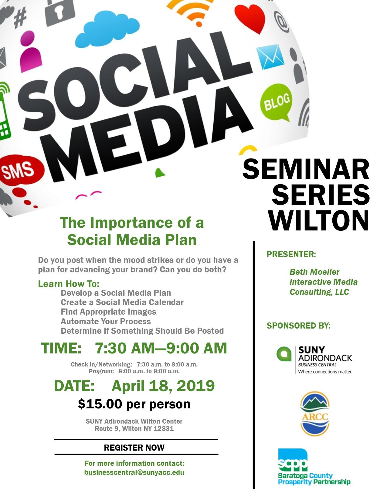 Social Media Plan Seminar April 2019 FINAL-2