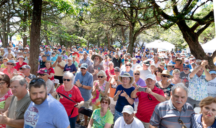 Ocrafolk Festival Crowd 2018 (Photo by George Wood