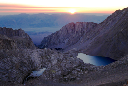 Mount Whitney at sunrise by Christine Sculati