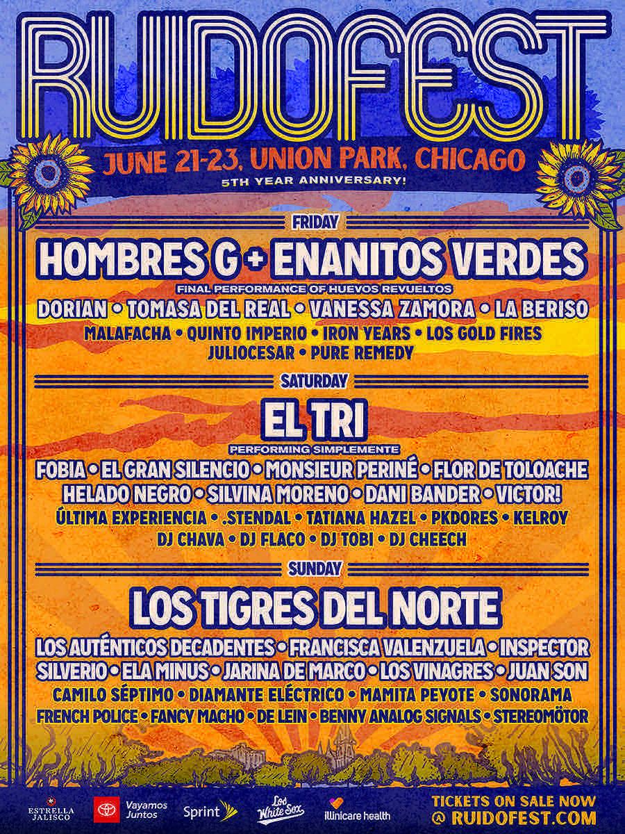 Ruido Fest Single Day Tickets