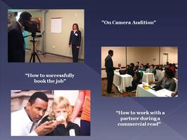 Commercial Audition Training Saturday May 11,  2013