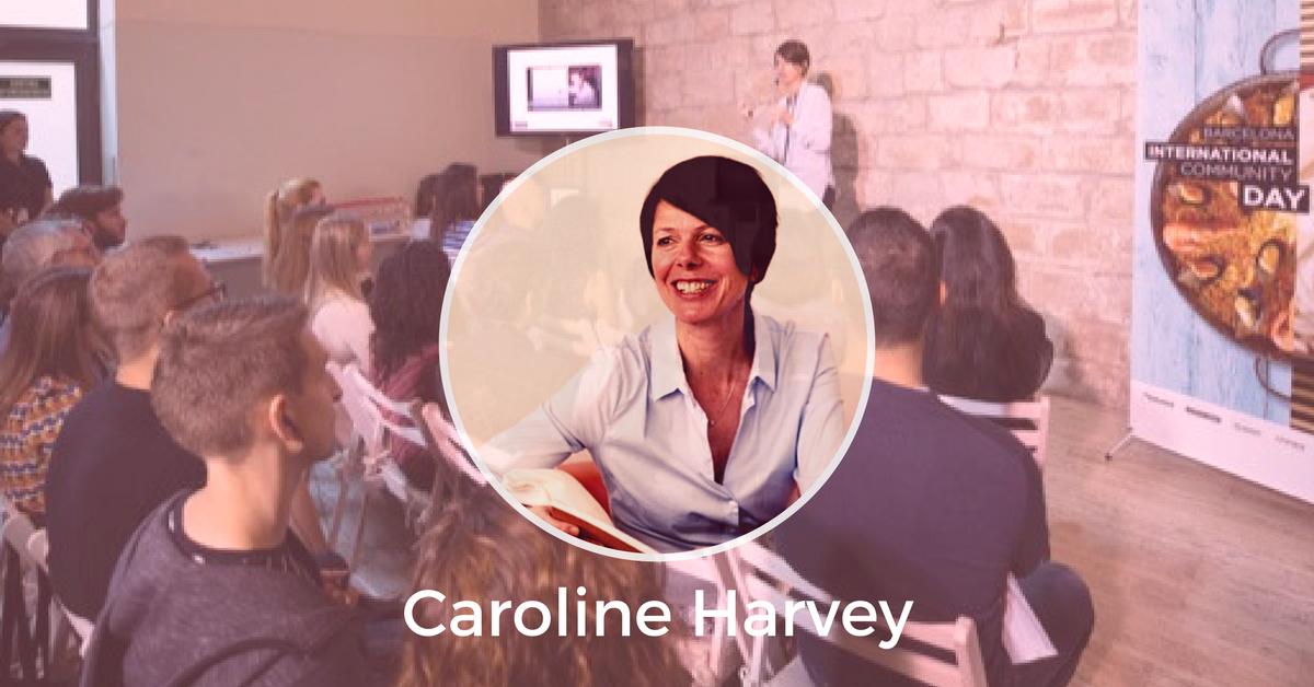 Caroline Harvey Barcelona International Community Day 2017