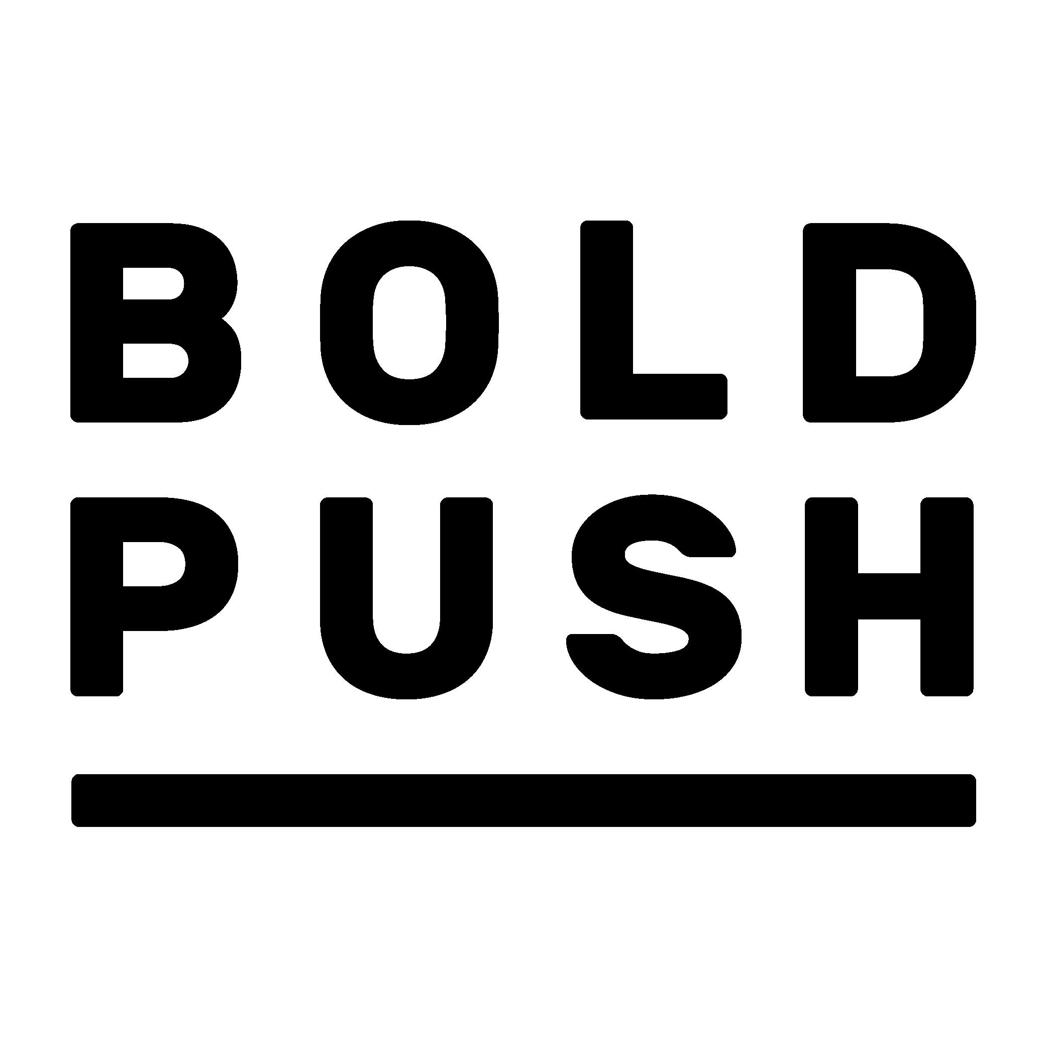 Bold Push_logo_black