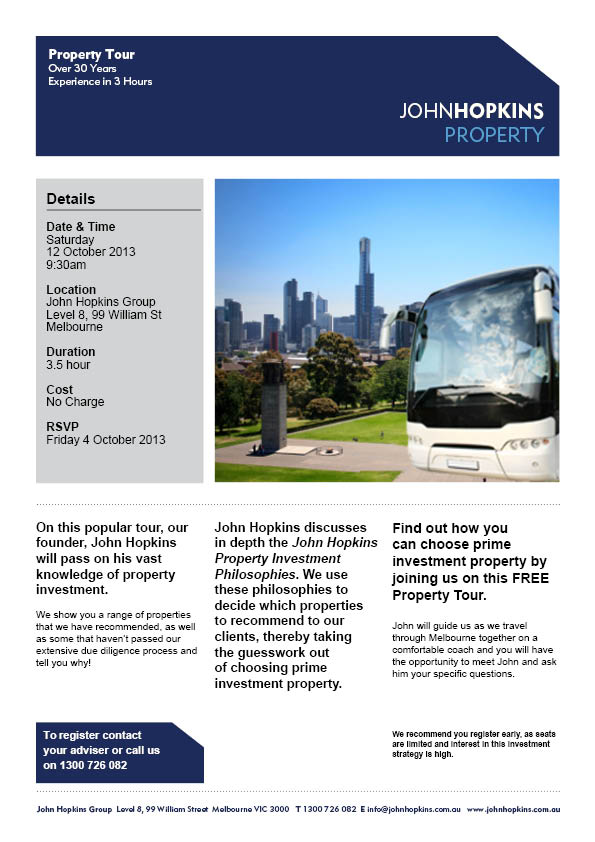 Property Tour Invitation - 12OCT2013