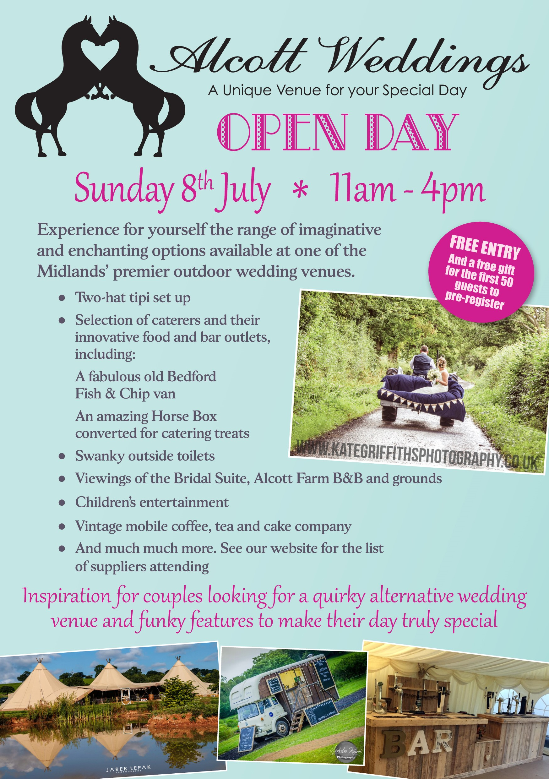 Flyer for open day