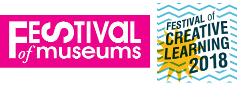 Festival of Museums and Festival of Creative Learning logos