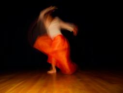 Ama orange dancew 2