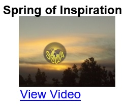 Spring of Inspiration
