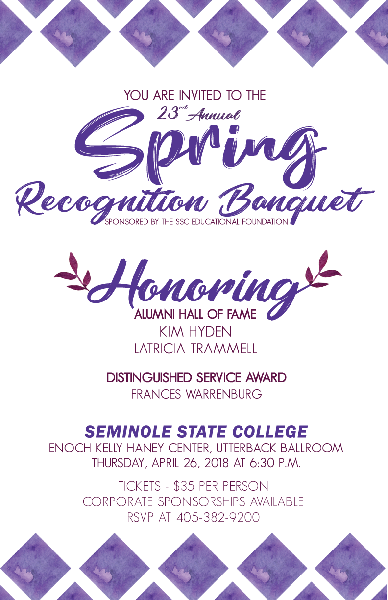 2018 SSC Spring Recognition Banquet