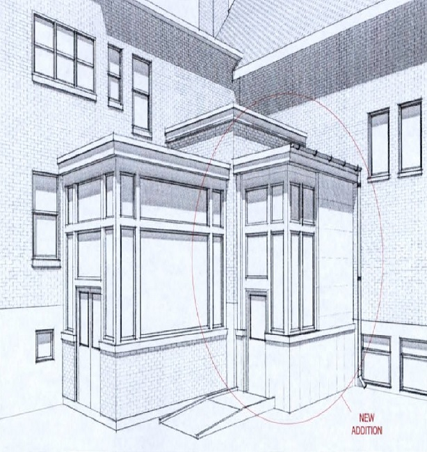 Image of elevator addition