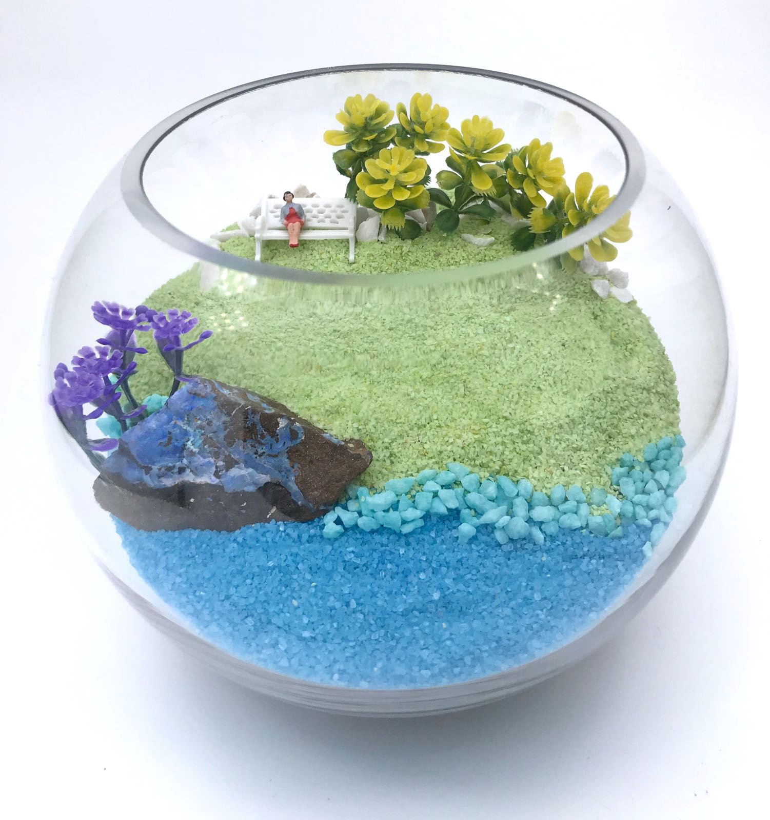 Gemstones Terrarium Set