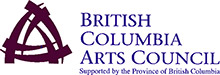 British Columbia Arts Council website