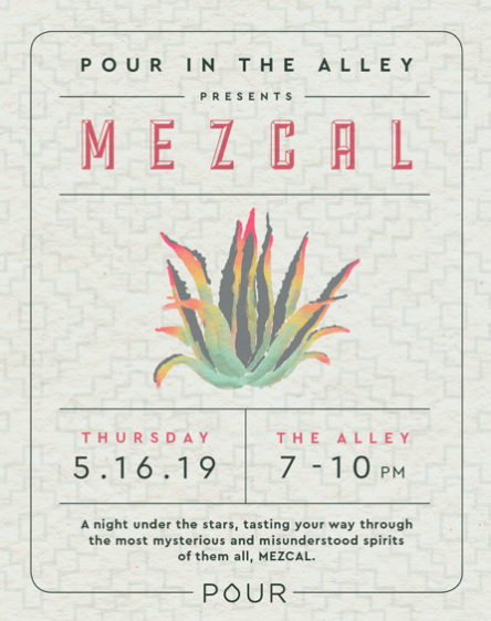 Mezcal in the Alley