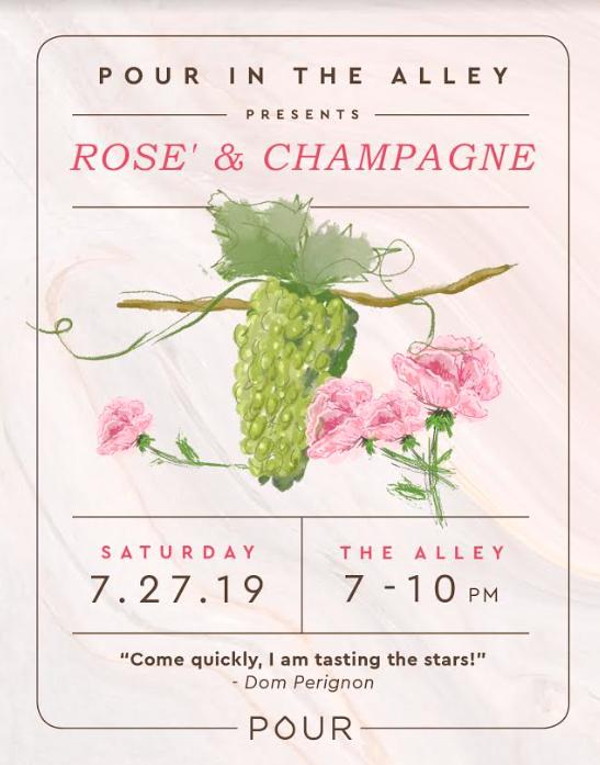Rose & Champagne