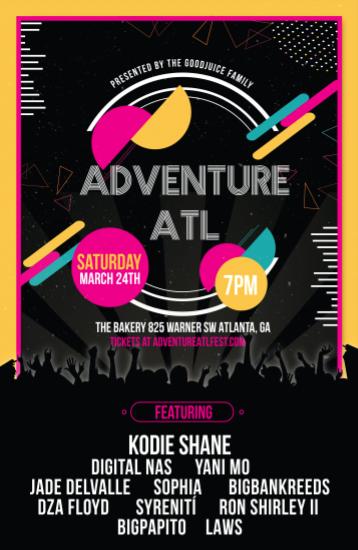 Adventure ATL Fest flyer