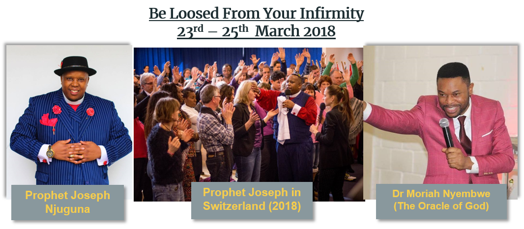 Be Loosed From Your Infirmity Event March 2018