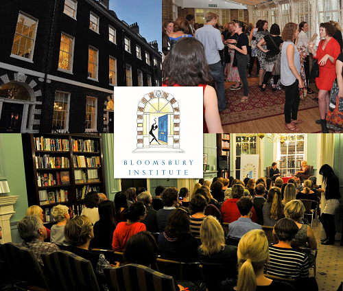Bloomsbury Institute Author Talks Literary Events