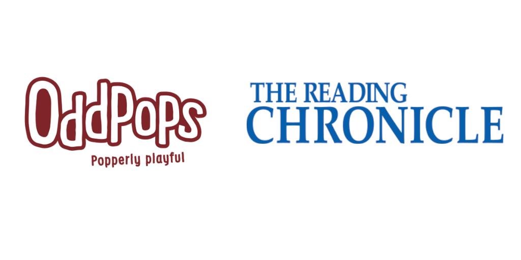 Logos of Reading Chronicle and OddPops
