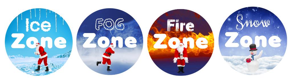 Frosty 5K zones